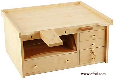 Pdf Plans Portable Jewelry Bench Download Wood Bed