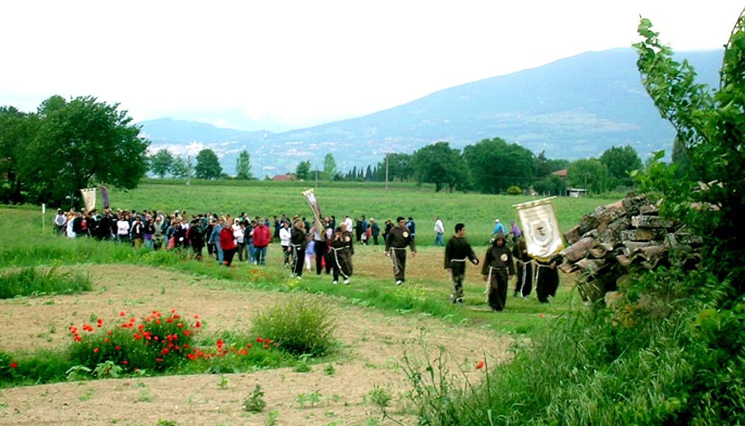 Ordine Francescano Secolare – Processione a Piandarca