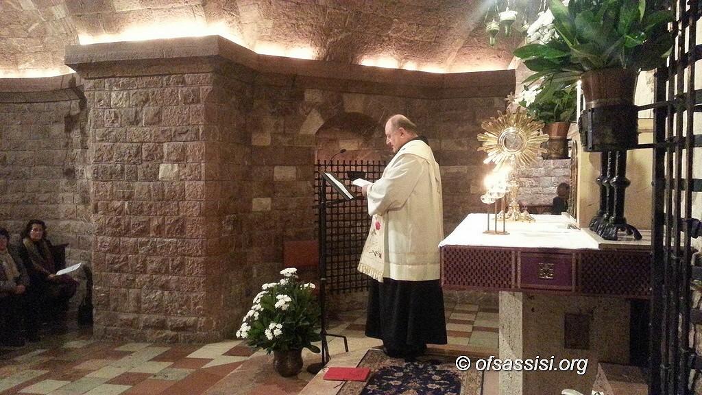 Serata di adorazione in Tomba per i Francescani Secolari, aperta a tutti