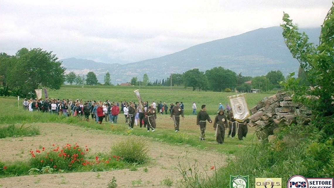 La Processione a Piandarca, domenica 10 maggio