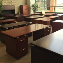 Office Tables And Chairs Images Sure Fit Chair Covers Target Kenosha Furniture Warehouse Outlet Pricing New Used Cheap Desk