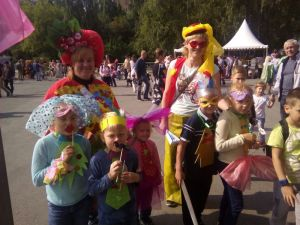 Мастер-класс «Бант карнавальный»