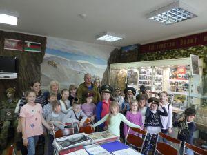 Урок Мужества в зале Памяти «Россия помнит своих солдат»