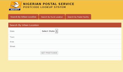 get Nigerian postal codes
