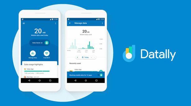 datally mobile data saver app