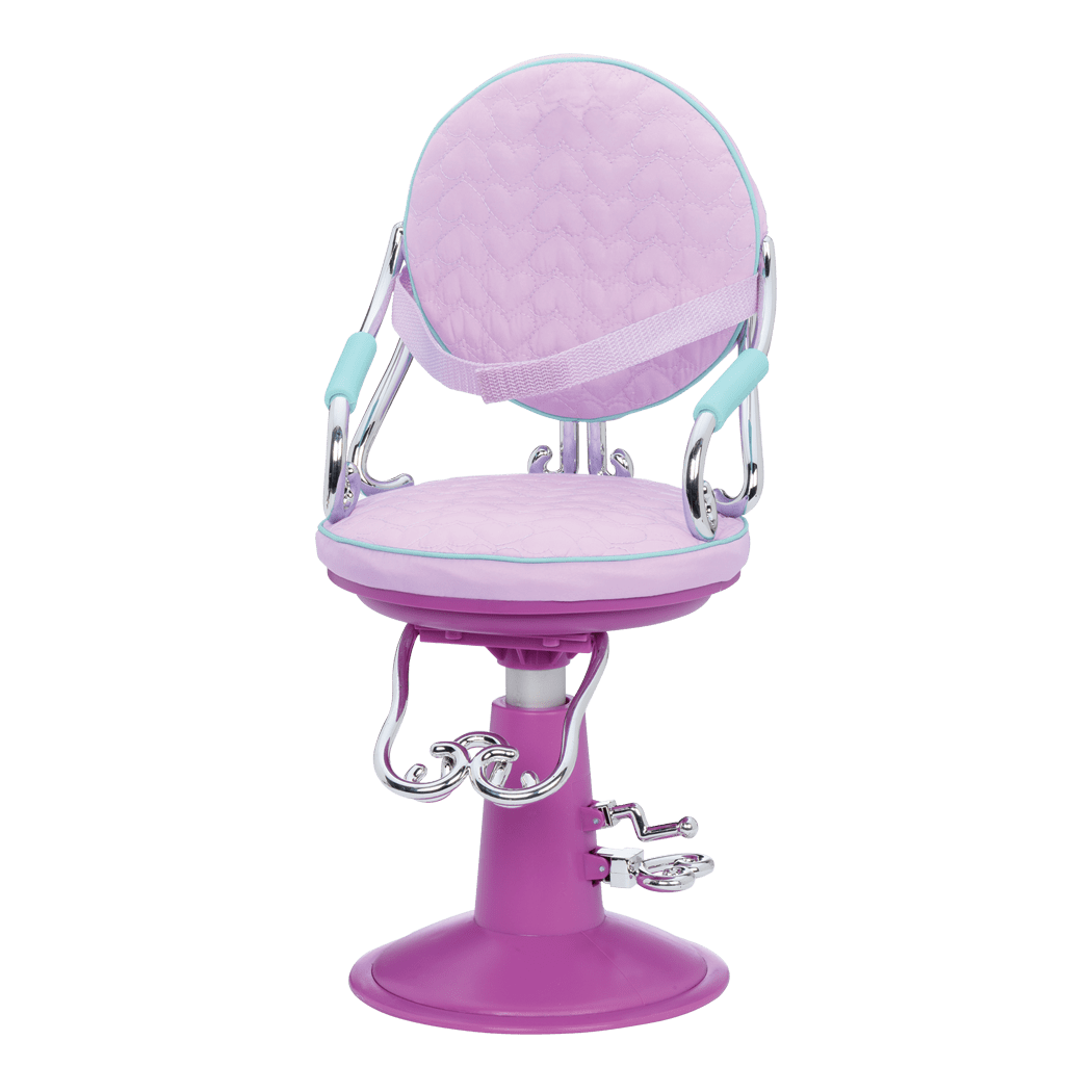 our generation salon chair hanging chairs outdoor sitting pretty dolls