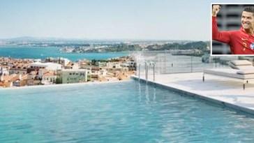Cristiano Ronaldo, il suo nuovo superattico (con piscina sul tetto) è…