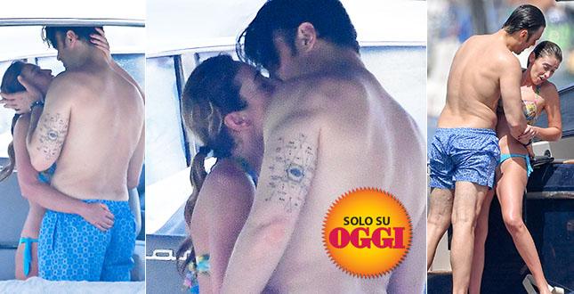 Maria Elena Boschi e Giulio Berruti, baci bollenti e carezze proibite in barca: l'amore prende il largo – ESCLUSIVO