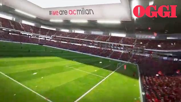 Nuovo stadio del Milan al Portello c lok della Fiera