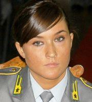 Il Comandante della Finanza di Casale capitano Francesca Bertone