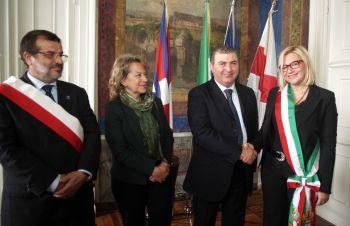 Da sinistra: Mazzoni, Tafuri, Masciari, Rossa