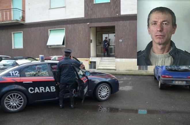 I carabinieri nel luogo del tentato omicidio