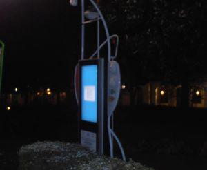Un totem multimediale di Acqui