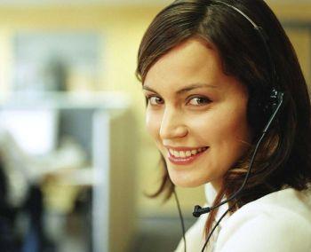 call center telefono donna impiegata - Q