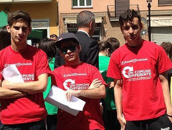 """Gli studenti del """"Marconi"""" alla  giornata di Eco-orienteering"""