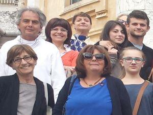 I dipendenti del Comune di Tortona in gita a Torino per visitare la Sindone e Superga