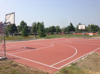 Casale, si stanno concludendo i lavori dell'area sportiva di via Rottigni