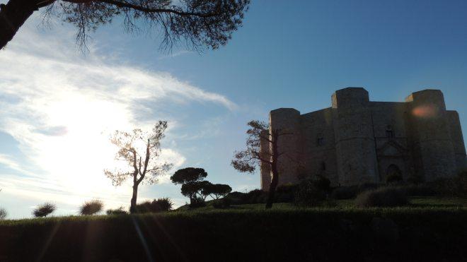 Castel del Monte al Tramonto