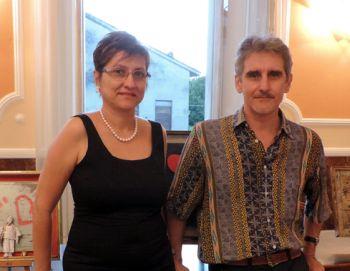 Giovanna Franzin e Fabrizio Falchetto