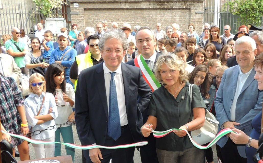A Pontecurone Prefetto e vice ministro inaugurano la nuova scuola. Le immagini