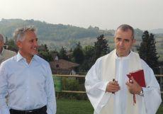 Inaugurata l'area verde a Vho realizzata col contributo della Fondazione Cassa di Risparmio di Tortona