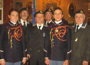 I marinai tortonesi sono andati a Voghera a rendere omaggio alle vittime di Nassiriya e Parigi