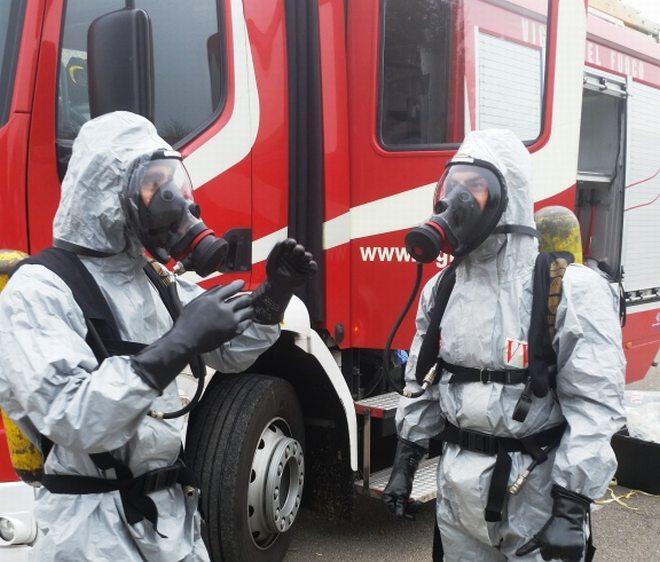 I vigili del Fuoco di Tottona pronti ad entrare in azione