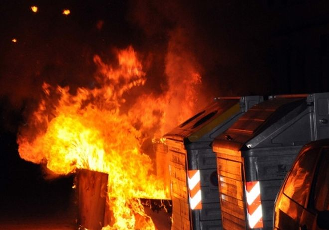 Due incendi in 24 ore a Rivalta Scrivia e un cassonetto a fuoco a Volpedo