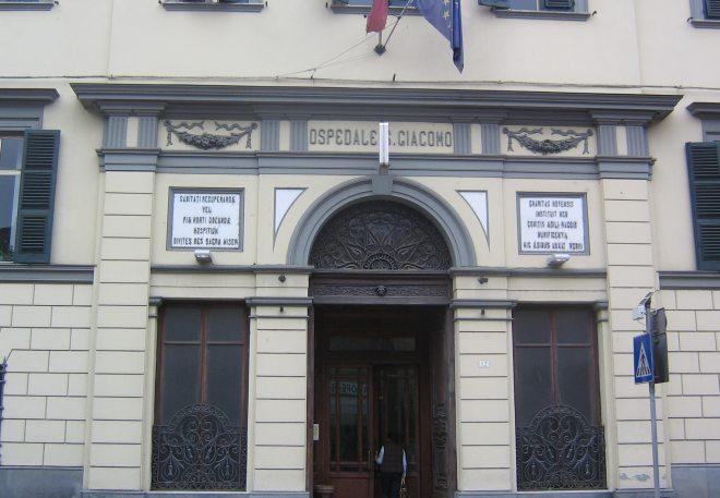 """Riapre l'ingresso principale dell'ospedale """"San Giacomo"""" di Novi Ligure"""
