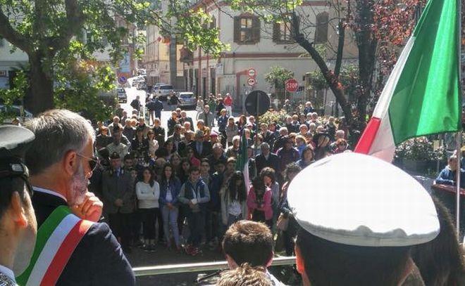 Tanta gente a Tortona per l'Anniversario della liberazione
