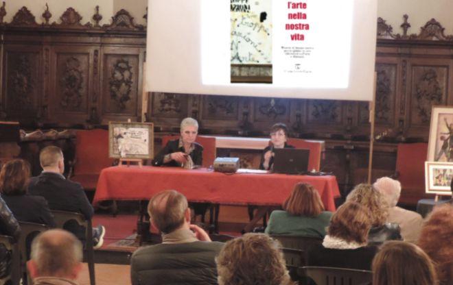Pontecurone, un successo il saggio sull'arte di Giovanna Franzin