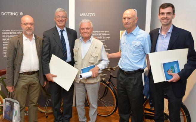 Ad Alessandria presentato il libro sul ciclista tortonese Giovanni Cuniolo