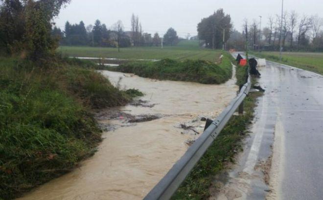 A Tortona proseguono i lavori di sistemazione del torrente Grue contro le alluvioni