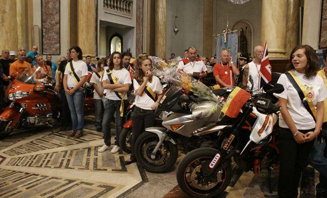 Per il 71° Motoraduno 'della Madonnina'  calo di iscritti, ma grandi numeri per la sfilata