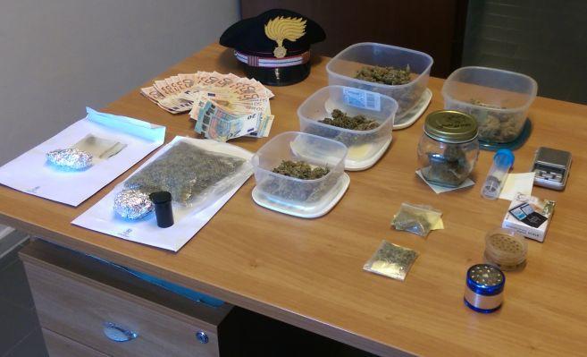 Due bronesi arrestati per detenzione e spaccio di sostanze stupefacenti