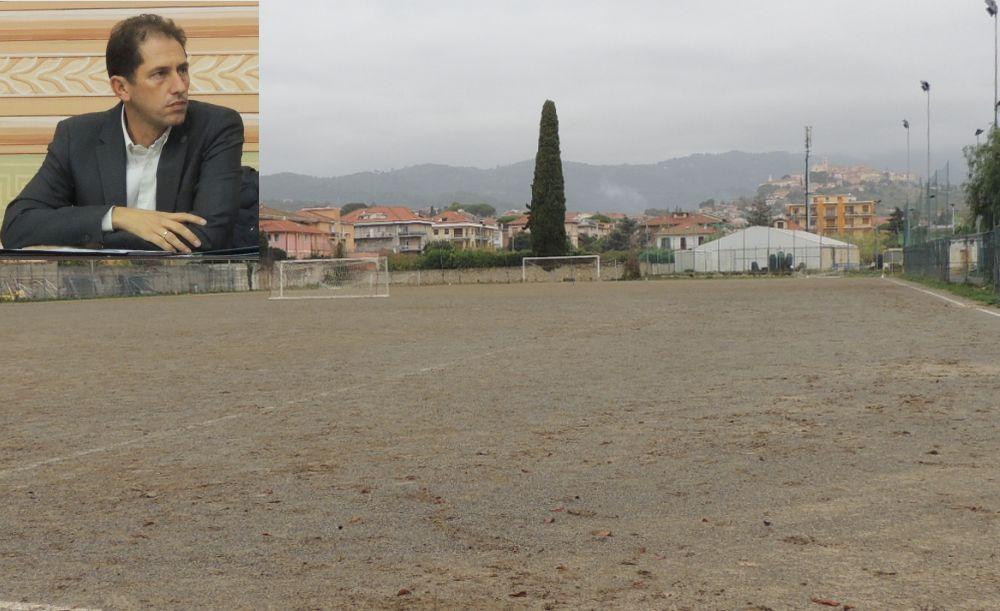 Costerà 580 mila euro il nuovo campo sportivo a Diano Marina. Lavori al via a Settembre