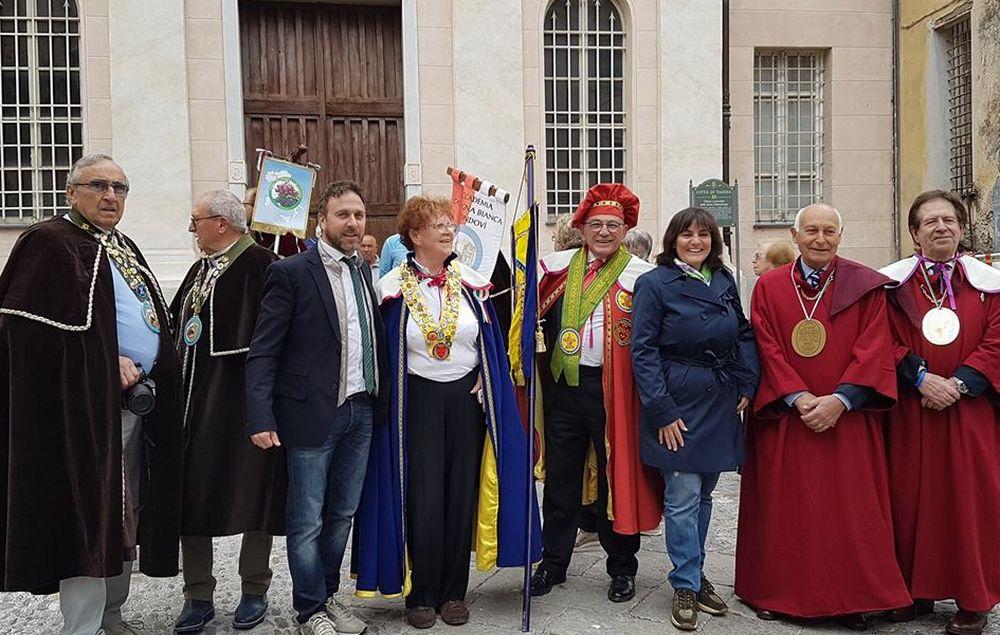 A Taggia si è svolta la riunione delle Confraternite aderenti all'Unione Ligustica dei Circoli Enogastronomici