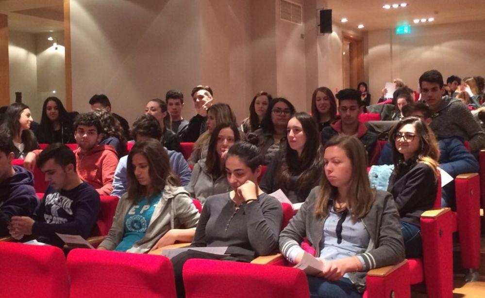 """Gli studenti tortonesi del """"Marconi"""" al progetto Martina"""