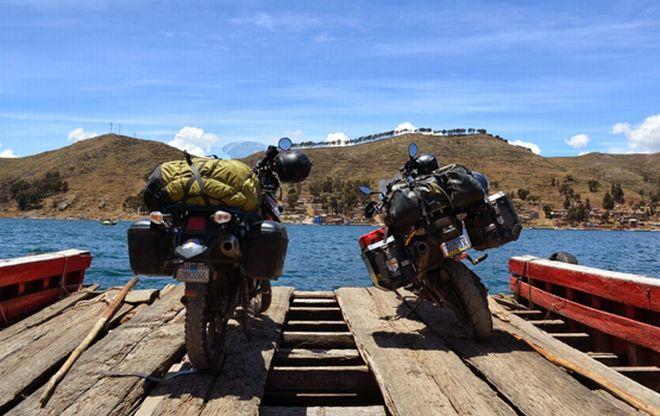 Venerdì a Rivarone le immagini di un viaggio in moto in Bolivia