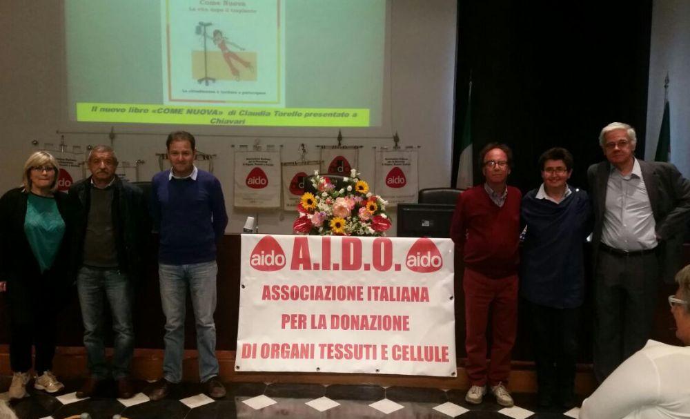 L'Aido di Imperia a Genova per il 30esimo anniversario dell'asociazione
