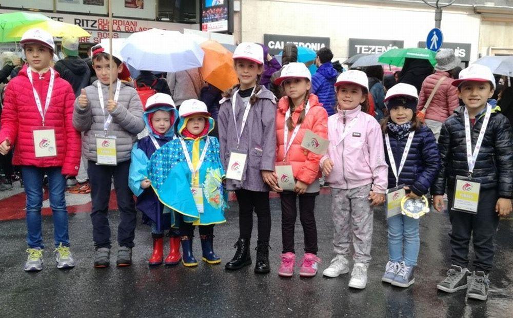 Sanremo, i bimbi della Scuola dell'Infanzia di Verezzo vincitori al GEF 2017