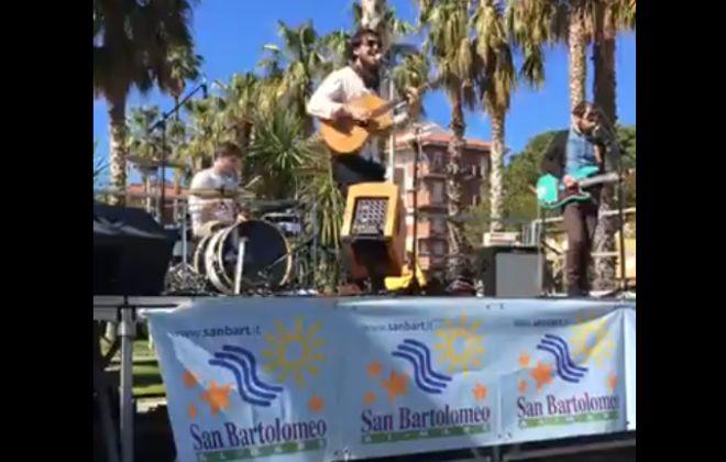 Successo della Brilla band in concerto il 1° maggio a San Bartolomeo al mare
