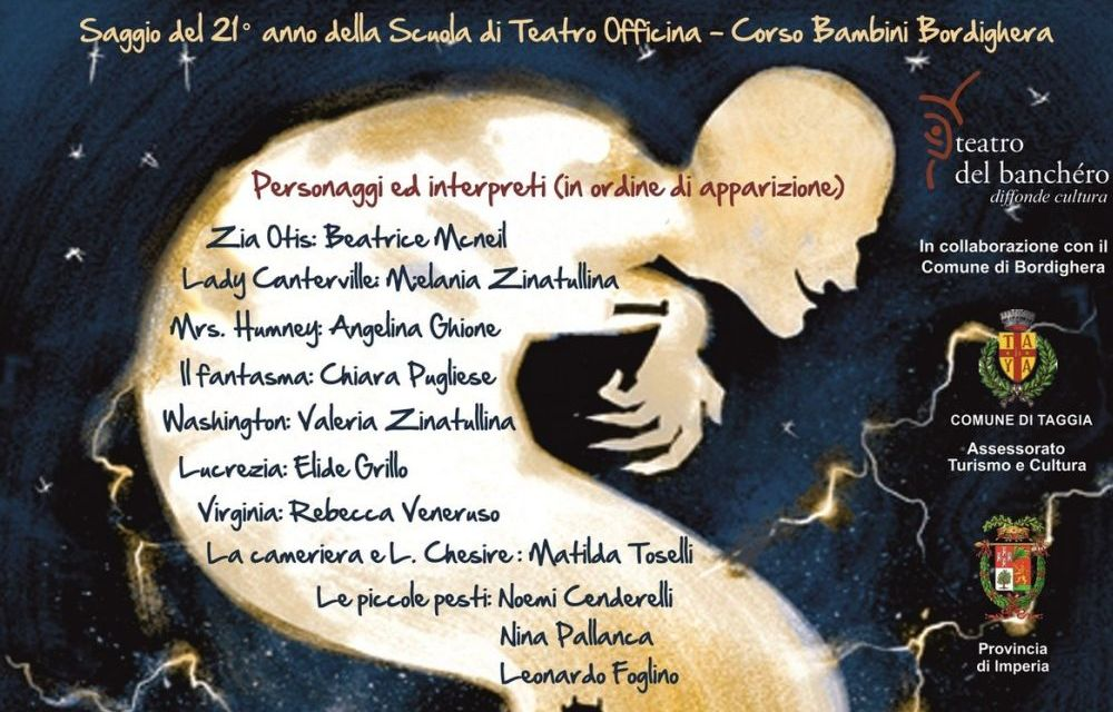 """Domenica a Bordighera il Gruppo Bambini del Laboratorio Officina presenta """"Canterville 2.0"""""""