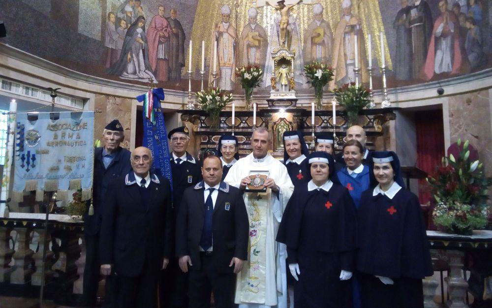Tortona, insieme ai marinai, ha ricordato Santa Caterina da Siena, patrona delle infermiere