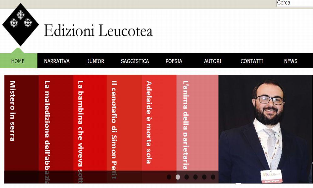 Le edizioni Leucotea di Sanremo arrivano fino in Sicilia