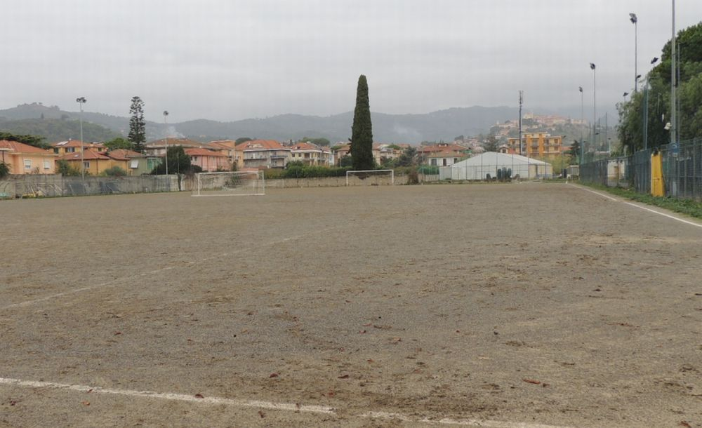 Diano marina ha approvato la realizzazione del nuovo campo di calcio: costerà 513 mila euro