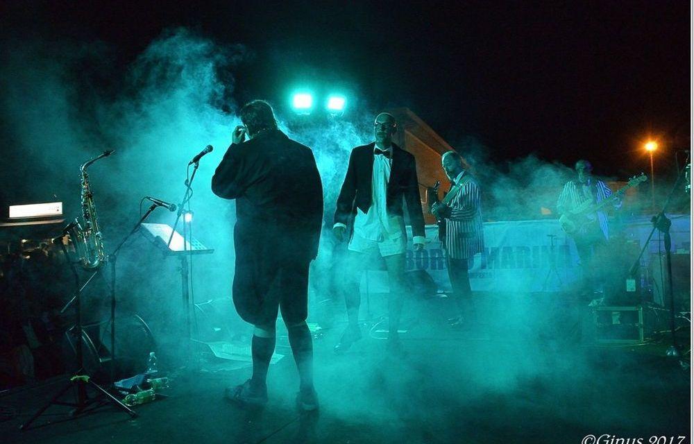 Il Gruppo dianese dei Belli fulminati nel bosco ha sbancato la Marina di Porto Maurizio con un concerto al top