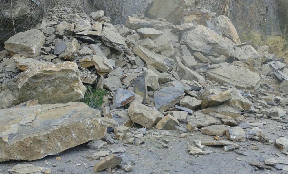 Strade, riaperto il tratto della provinciale tra Pontedassio e Chiusavecchia bloccata da questa frana