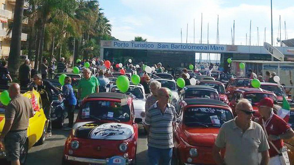 Saranno 120 le Fiat 500 al Raduno di domenica 15 settembre a San Bartolomeo