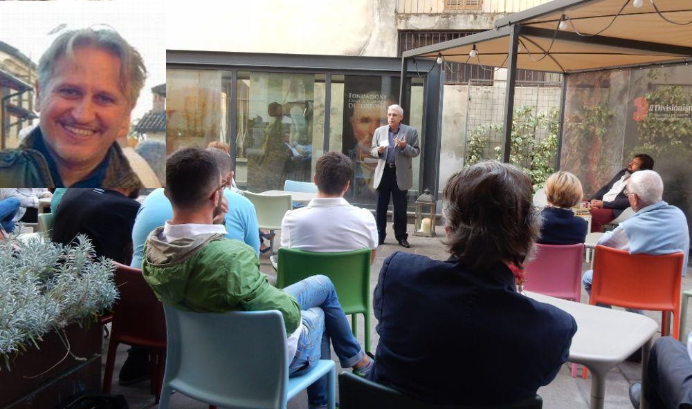 "Per gli ""Incontri al D-Café"" venerdì a Tortona Fabio Morreale racconta la sua storia"